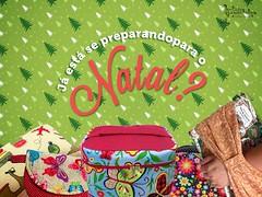 Esta se preparando para o Natal (Andreza Muniz) Tags: natal handmade craft sew patchwork bolsa presente tecido colorido carteiras necessaire frasqueiras elo7 acessriosemtecido costuracriativa comprodequemfaz asabelas