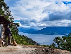 Lake Atitlan, well worth the walk. #theworldwalk #travel #guatemala