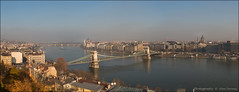 Budapest panorama (Alex Verweij) Tags: christmas bridge winter panorama 6 canon photos pano budapest dec 5d brug kerst donau boedapest istvn 2015 szchenyi markiii szchenyilnchid 6photos kettingbrug kerstsfeer alexverweij jnosmarschalk burchtheuvel