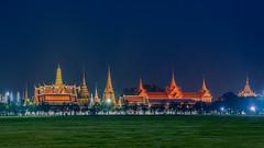 Grand Palace (rung_sirapat) Tags: landscape thailand temple grandpalace palace city night bangkok asia asean southeastasia southeast