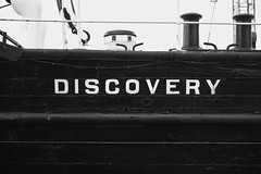 Discovery 8 (aylmerqc) Tags: rrsdiscovery discovery ship sail boat antarctic royalresearchship research polar scott shackleton drydock museum dundee scotland bw blackandwhite fujifilm xe1 fujinon1855mm