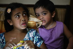 ICHI & LULU (N A Y E E M) Tags: basma kalam umar daughter son family ramadan afternoon home rabiarahmanlane chittagong bangladesh sooc raw unedited untouched unposed availablelight indoors ichi lulu