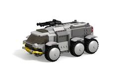 Star Citizen Ursa Rover (turbokiwi) Tags: lego starcitizen ursa rover vehicle truck buggy transport