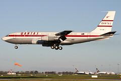 VH-XBA (GH@BHD) Tags: vhxba boeing 707 b707 707138b qantasmemorialfoundation qantas dublininternationalairport dublinairport dublin eidw dub airliner aircraft aviation