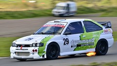 Robert Drummond, Ford Escort Cosworth (djbsteele) Tags: robertdrummond escortcosworth cosworth ford knockhill smrc sportssaloonchampionship motorsport circuitracing supersports