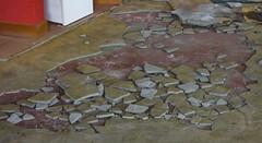Crazy Paving (Steve Taylor (Photography)) Tags: skimmed cement tiles building earthquake 22february2011 broken damage quake smashed newzealand nz southisland canterbury christchurch city cbd concrete tile