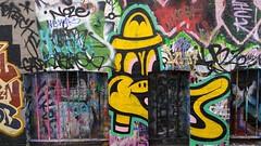 Caper... (colourourcity) Tags: streetartaustralia streetart graffiti melbourne burncity awesome colourourcity colourourcitymelbourne nofilters caper erg easyridersgang capererg duck