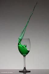 Mystical (Michelle Christin) Tags: glas weinglas macro makro tamron canon 60d mystical green
