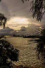 A Glimpse of Panama (Bernai Velarde-Light Seeker) Tags: panama city ciudad mar ocean oceano sea pacific pacifico buildings edificios water agua apartments apartamentos central centro america bernai velarde