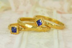 Square Sapphire Enga (alaridesign) Tags: square sapphire engagement ring gold filled wedding set rustic september birthstone 14k septemberbirthstone squarering sapphirering weddingring rusticweddingring weddingringset engagementring ringset alari sapphireengagement