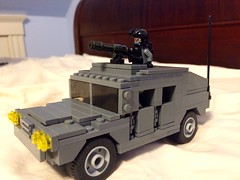 Special forces hummer moc (jonahfox1) Tags: lego brickmania humvee military brickarms minifig moc