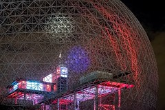 Montreal Biosphre (rexp2) Tags: museum worldsfair night dome architecture sonya7s