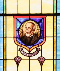 St John de Brebeuf SJ (Lawrence OP) Tags: jesuit saint martyr stainedglass window sacredheart bushwood md