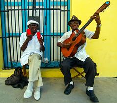 Street Musicians - Habana La Vieja (Steve Bahcall) Tags: musicians cuba havana habanalavieja travel color streetphotography guitar tradition portrait tokina1116