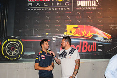 Daniel Ricciardo (elizabeth_XTC) Tags: redbull redbullracing rbr longhornracing ut universityoftexas texas austin longhorns puma formula 1 f1 barbecue bbq speed shop daniel ricciardo