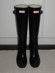 Hunter Fulbrooke still unused pair (jazka74) Tags: wellies rubber boots hunter fulbrooke high heel new