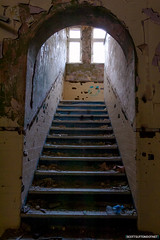 Staircase - Mountain Ash Hospital
