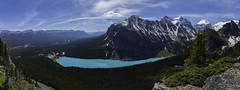 Lake Louise from Little Beehive Lookout, Banff (owenweberlive) Tags: johnstoncanyon banff waterfall longexposure hdr canada rockies canadian lakelouise