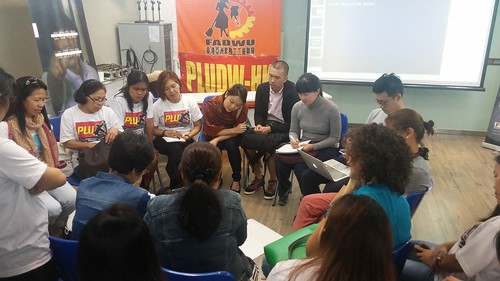 2016-10-30 Hong Kong: Civil Society Organisations (CSOs) forum on activities of employment agencies & protection of domestic workers