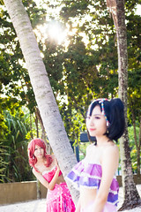 Maki & Nico (bdrc) Tags: asdgraphy maki nico lovelive cosplay portrait outdoor morning putrajaya pullman resort sand beach nikkor 50mm f14d prime manual sony a6000 makoto ikura