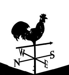 Weather vane (tom ballard2009) Tags: silhouettes weathervane vane weather cock cockerel mono blackwhite shoreham