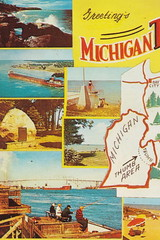 "CEN 1961 WHO DOES NOT LIKE THE MICHIGAN THUMB Lexington Port Sanilac Harbor Beach Port Austin Caseville Grindstone Sebewaing Bad Axe Point Aux Barques GREAT Color Collectible2 (UpNorth Memories - Donald (Don) Harrison) Tags: christmas santa jesus vintage antique postcard rppc ""don harrison"" ""upnorth memories"" upnorth memories upnorthmemories michigan history heritage travel tourism ""michigan roadside restaurants cafes motels hotels ""tourist stops"" ""travel trailer parks"" campgrounds cottages cabins ""roadside entertainment"" ""natural wonders"" attractions usa puremichigan "" ""railroad ferry"" ""car excursion"