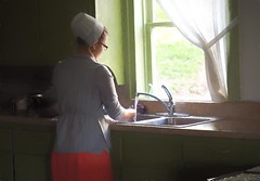 Far More than Rubies - HSS (TuthFaree) Tags: elements amish woman kitchen baking portrait topaz impression hss slidersunday