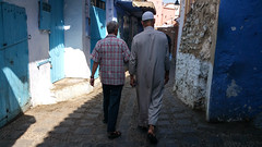 Streets, Chefchaouen, Morocco (virt_) Tags: chefchaouen tangiertetouan morocco 2016 summer europe trip travel travels vacation family kids