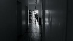 R.I.P Robert (Scarlet Floyd) Tags: death ominous foreboding melancholy cross hallway