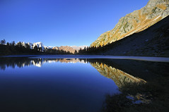 Il lago d'Arpy (kini_b) Tags: italy italie montebianco reflection riflesso
