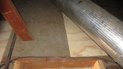 IMG_1440 attic scuttlehole west end (ceztom) Tags: march 14 2016 home goleta new scuttlehole attic