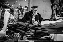 Socks on the sidewalk (Mustafa Selcuk) Tags: monochromatic monochrome siyahbeyaz sokak bw bnw blackandwhite 16mm eminonu fujifilm istanbul street streetphotography travel turkey xpro2