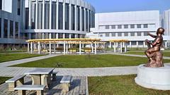 Palais des enfants de Mangyongdae - (nokoredstar) Tags: pyongyang northkorea coréedunord palais des enfants mangyongdae
