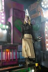 Night Train of Terror by Lime Kiln Carnival Club. (David James Clelford Photography) Tags: nighttrainofterror limekilncarnivalclub northpetherton northpethertonguyfawkescarnival2016 carnival candlestick boots fitgirl prettywoman attractivelady