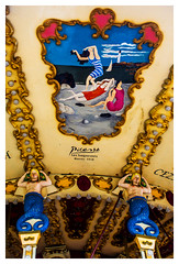 ... Picasso dec ... (Lanpernas 4.0) Tags: picasso arte art artdec modernismo elleepoque carrusel tiovivo zaldikomaldiko alderdieder techo pintura lesbaigneuses sirenas biarritz donostia