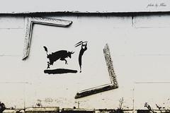 (NINA KOB (on & off)) Tags: wall paint frame split harajuku