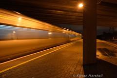 22047 departs Parkwest, 21/11/16 (hurricanemk1c) Tags: phoenixparktunnel day1 firstdayservice railways railway train trains irish rail irishrail iarnród éireann iarnródéireann 2016 22000 rotem icr rok 3pce 22047 1700hazelhatchandcelbridgegrandcanaldock parkwest