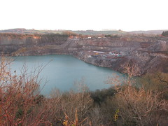Wick quarry (Morganesque) Tags: goldenvalley
