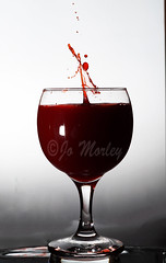 (Jo_Morley) Tags: lights light manualflash manual flash bright exposure contrast wine glass wineglass red redwine liquid splash splashing splashart water droplet droplets drink photography photoshop sony indoor inside interesting experiment experiments