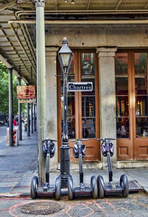 segway (peter.clark) Tags: neworleans frenchquarter jacksonsquare segway chartres