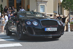 Bentley Continental Supersports Coup (D's Carspotting) Tags: bentley continental supersports coup monaco black 20130726 blbbbbb