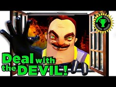 Game Theory: Hello Neighbor's SATANIC Plot! (Download Youtube Videos Online) Tags: game theory hello neighbors satanic plot