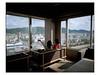 Two girls on 8th floor. (Frederic Froument Frederik) Tags: pentax 67ii 67 55 f4 455 kodak portra portra400nc kyoto japan