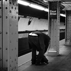 Smith (ShelSerkin) Tags: shotoniphone7 hipstamatic iphone iphoneography squareformat mobilephotography streetphotography candid portrait street nyc newyork newyorkcity gothamist blackandwhite