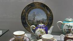 Rouen une visite au muse de la cramique (jeanlouisallix) Tags: rouen seine maritime haute normandie france mue de la cramique htel particulier vases assiettes porcelaine dhocqueville
