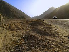 Egypt Desert Crossing_4185 (planet_hugger) Tags: travel car desert egypt egyptian luxor hurghada