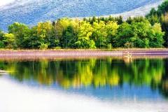The dam (Mario Ottaviani Photography) Tags: dam diga abruzzo capestrano lake lago reflections riflessi