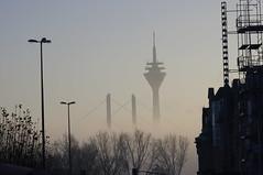 Dsseldorf (Mado46) Tags: bxl06 mado46 nrw germany deutschland dsseldorf nebel mist fog 111v1f
