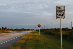 FL 29 Sign - Miles City (formulanone) Tags: 29 fl29 florida colliercounty road sign roadsign roadside milescity