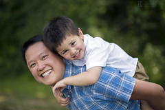 Father and Son - Wong Family